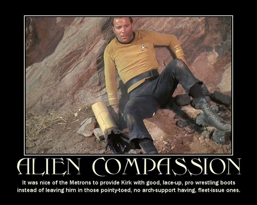 James T. Kirk fondo de pantalla possibly containing a sign and a hip boot entitled Kirk - Inspirational Posters