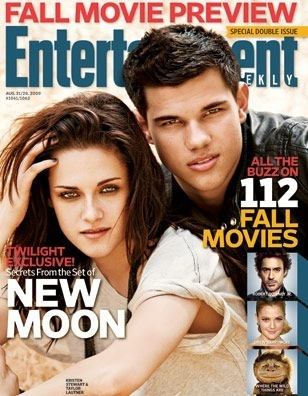 Kristen and Taylor on Entertainment Weekly