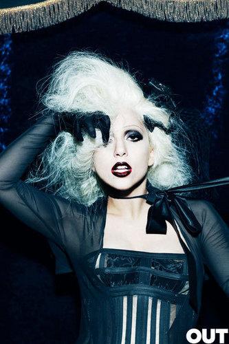 Lady GaGa on OUT magazine