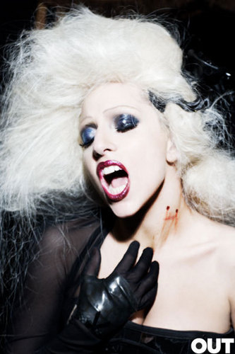 Lady GaGa on OUT magazine