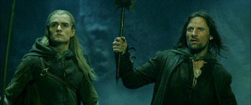 Legolas and Aragorn