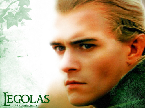 Legolas Greenleaf wallpaper containing a portrait entitled Prince Legolas
