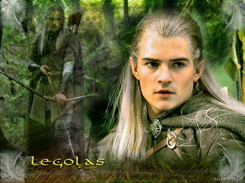 Legolas Greenleaf wallpaper with a mahogany titled Prince Legolas