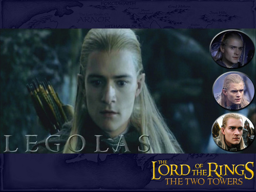 Legolas Greenleaf wallpaper probably with a sign and a portrait called Prince Legolas