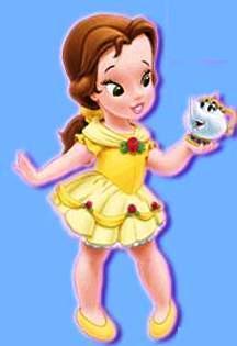 little disney princesses fondo de pantalla titled Little Belle