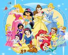 little disney princesses پیپر وال containing عملی حکمت entitled Little Princesses