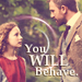 Lyra and Lord Asriel