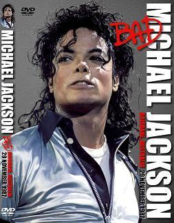 MJ <3 Bad Tour DVD cover