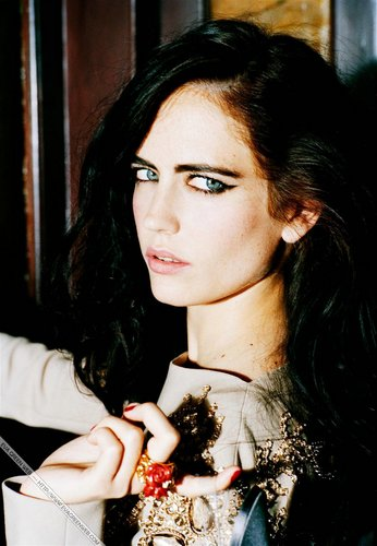 eva green wallpaper entitled Madame Figaro - 2007