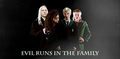 Malfoy Family and Bellatrix