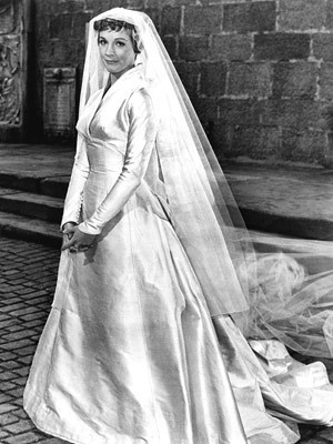 Maria In Her Wedding Dress