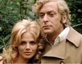 Michael Caine and Britt Ekland in Get Carter - michael-caine photo