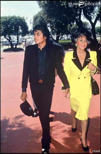 Michael Jackson, Elizabeth