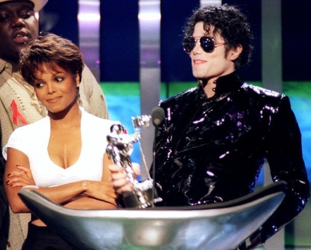 Michael & Janet mtv música Awards 1995