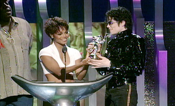 Michael & Janet mtv música Awards 1995