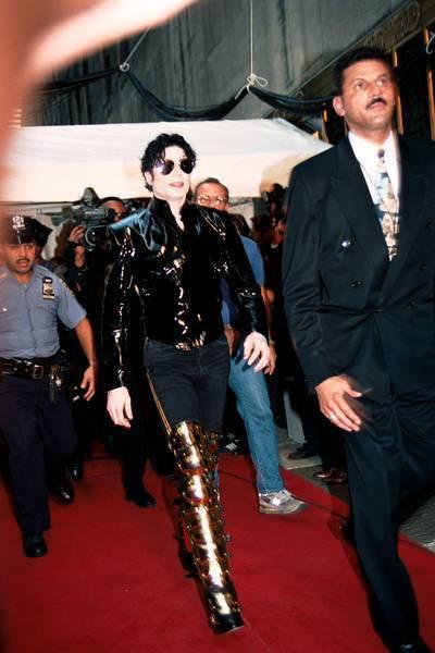 Michael mtv música Awards1995