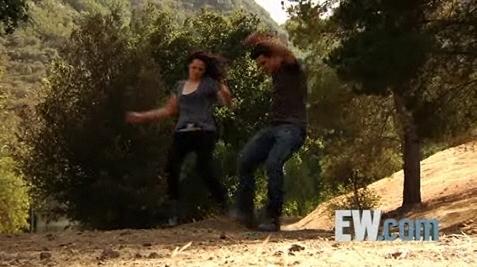 mais EW photoshoot (Taylor Lautner & Kristen Stewart)