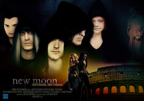 The Volturi wallpaper titled New Moon posters