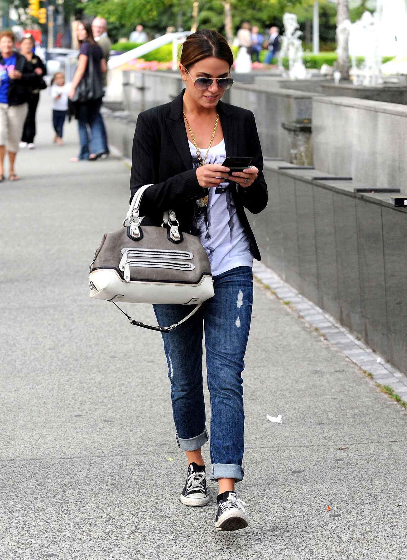 Nikki Reed is Chic in Vancouver