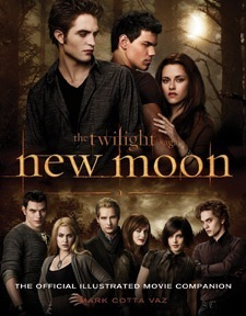 Official Cover of New Moon Movie Companion Book: First Look!