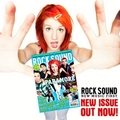 প্যারামোর on Rock Sound cover (Issue 126)