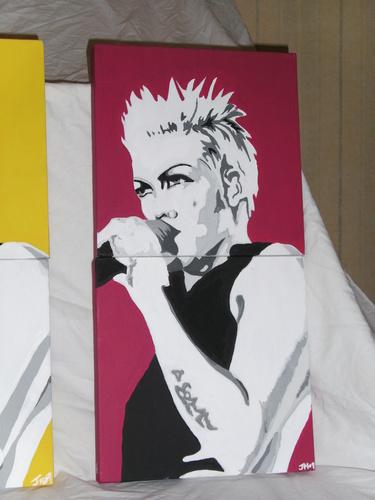roze - Portrait on Canvas