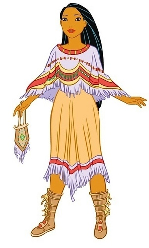 ディズニー Leading Ladies 壁紙 with アニメ titled Pocahontas