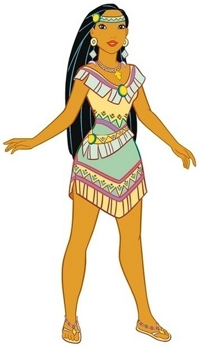 Disney Leading Ladies wallpaper possibly with anime called Pocahontas