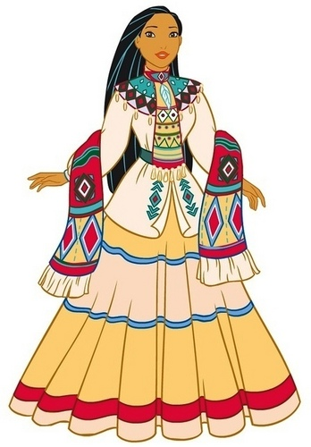 Walt disney fan Art - Pocahontas