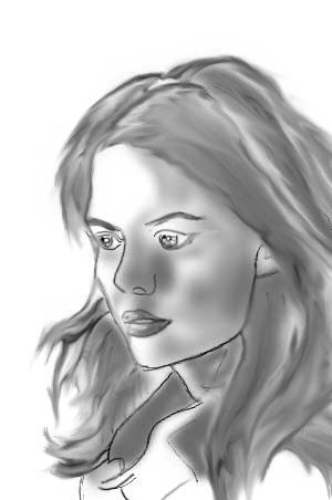 Rachel Dawes Sketch