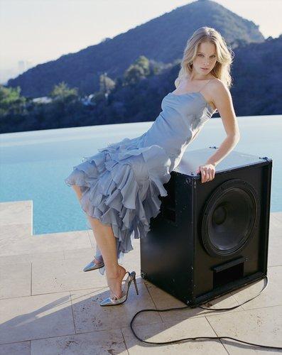 Rachel in Esquire 2005