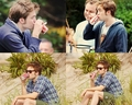 Rob Caught Drinking Coke - twilight-series photo