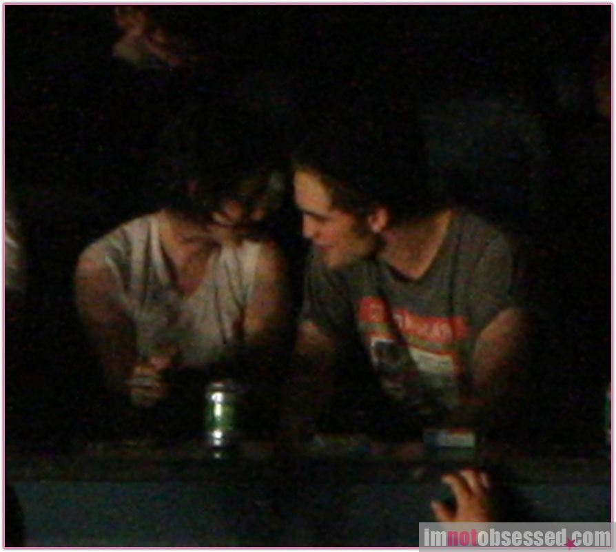 Rob & Kris in a concerto at Vancouver