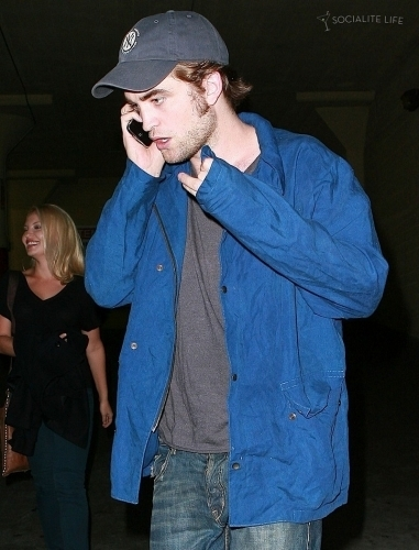 Rob and Kristen Have Lunch