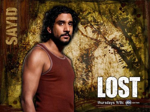 Sayid - Lost achtergrond