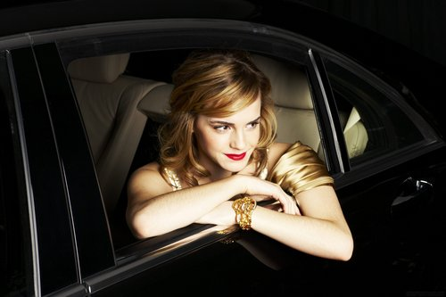 Emma Watson wallpaper possibly with an automobile entitled Sean Cook Photoshoot
