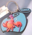 Sebastian the 螃蟹 on Disney's Cancer Keychain