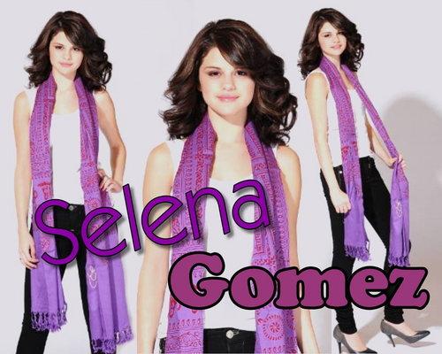 Selena Gomez achtergrond
