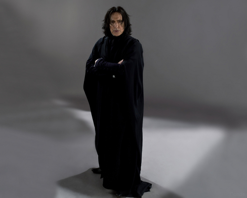 Северус Снегг Обои titled Severus Snape - The Half-Blood Prince