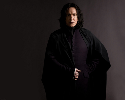 Severus Rogue fond d'écran entitled Severus Snape - The Half-Blood Prince