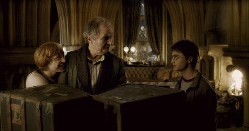 Slughorn, Ron and Harry - HP:HBP