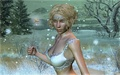 fantasy - Snow Fairy wallpaper