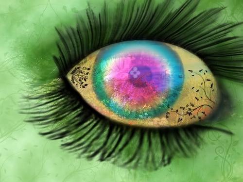 Spring's eye