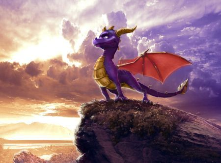 Spyro The Dragon achtergrond called Spyro