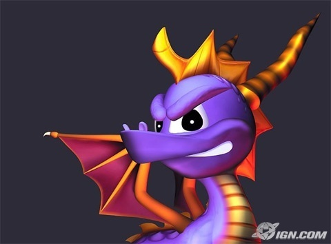 Spyro The Dragon پیپر وال titled Spyro