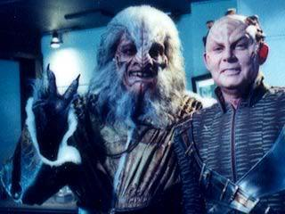 étoile, star Trek Enterprise: Behind the Scenes: Rick Worthy and Randy Oglesby - Gralik and Degra