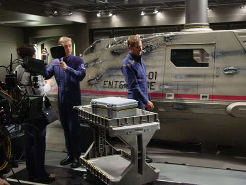 سٹار, ستارہ Trek Enterprise - Behind the scenes
