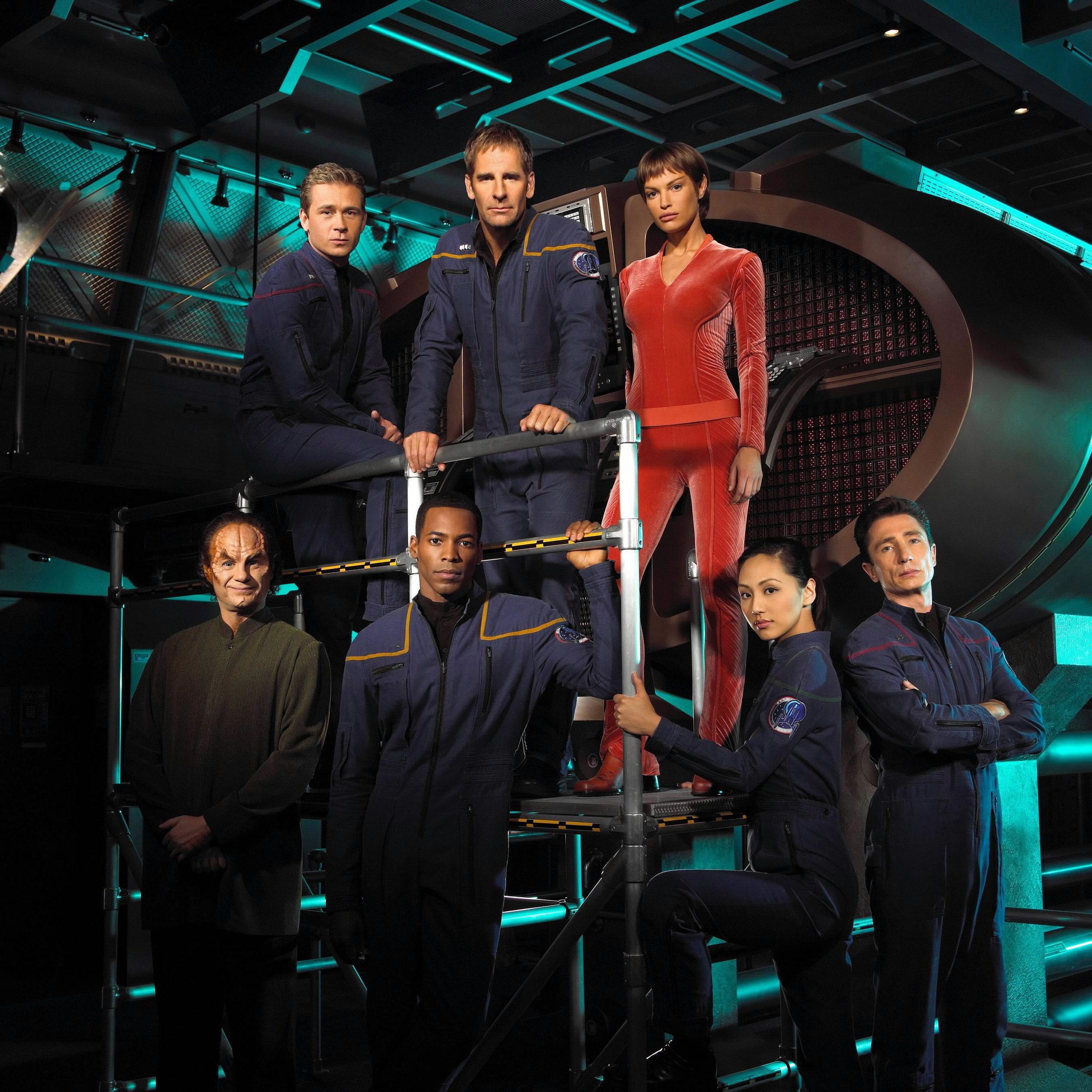Star Trek Enterprise - Cast