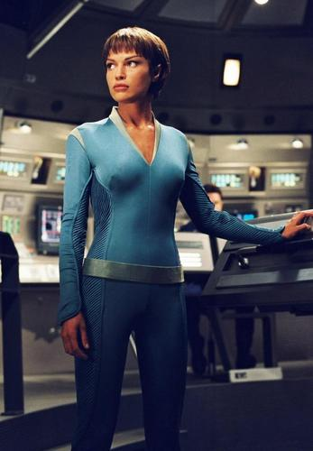 stella, stella, star Trek - Enterprise wallpaper with tights, bare legs, and a leotard called T'Pol