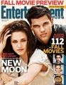Taylor Lautner, Kristen Stewart on Cover of Entertainment Weekly - twilight-series photo